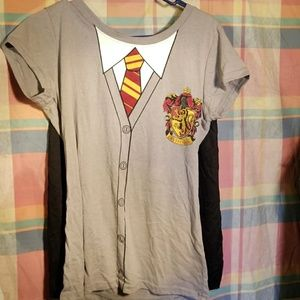 Other - Harry Potter shirt  with Cape
